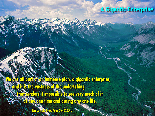 A Gagantic Enrerprise - Quote of the Day - vastness