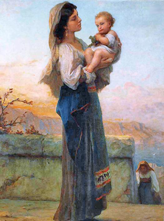Madonna and Child (Madonna y el niño) by Adolphe Jourdan