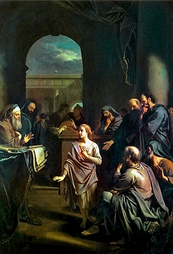 The Boy Jesus in the Temple by Adriaen van der Werff