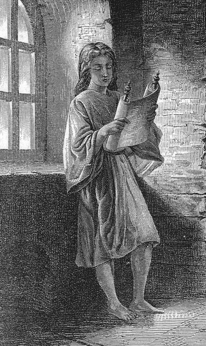 The child Jesus by Alexandre Bida