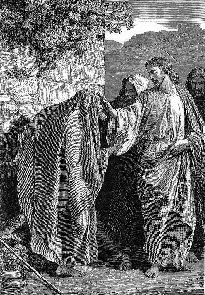 The leper by Alexandre Bida