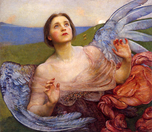 The Sense of Sight by Annie Louise Swynnerton