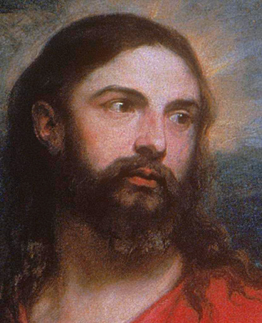 Portrait of Jesus (Retrato de Jesús) by Anthony Van Dyck