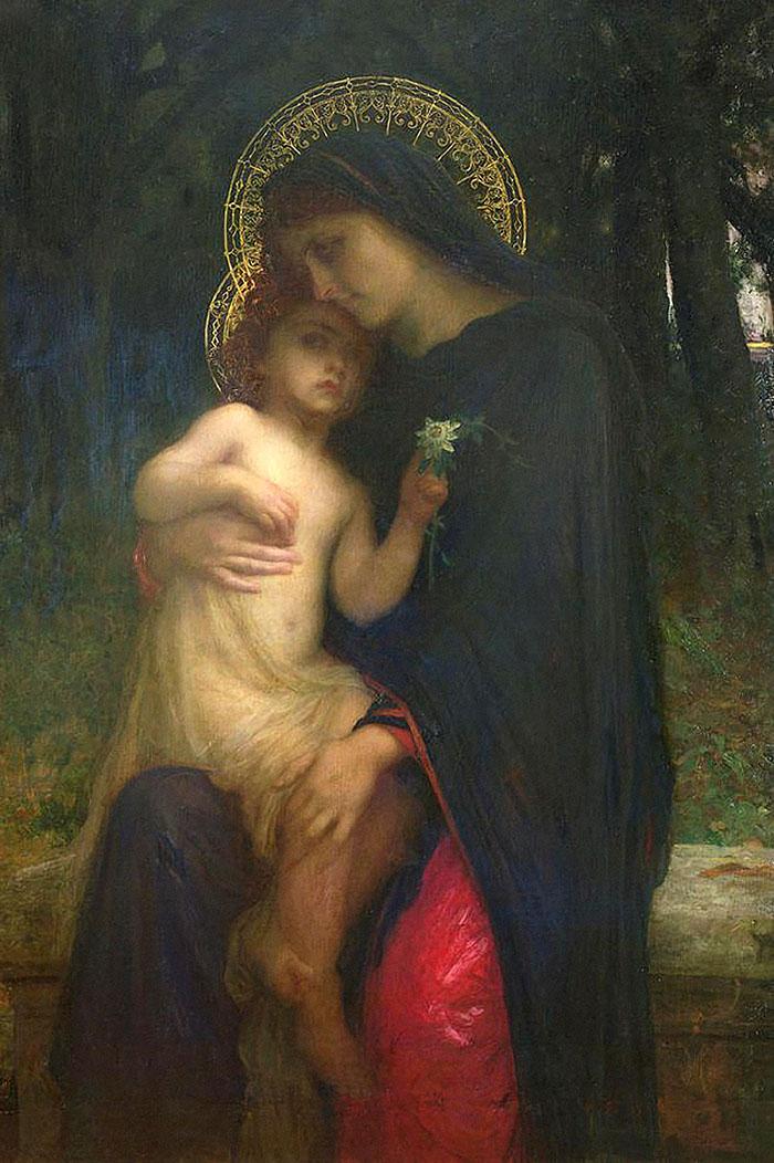 L'Addolorata by Antoine Auguste Ernest Herbert