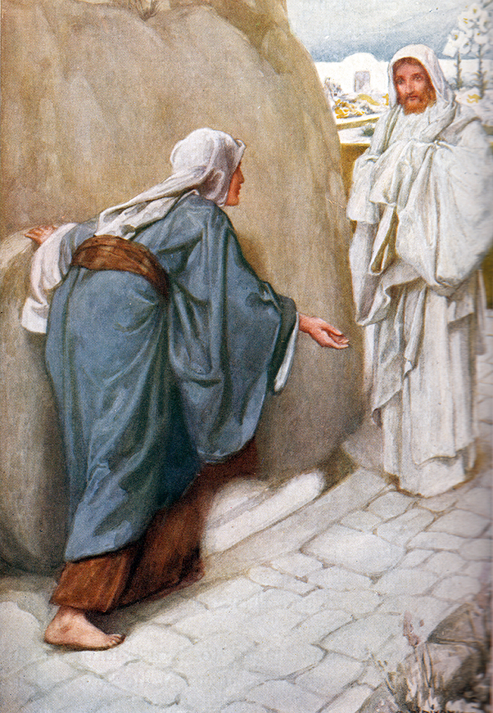 Jesus Appears To Mary Magdalene by Arthur A Dixon