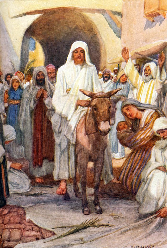 The Entry into Jerusalen by Arthur A Dixon