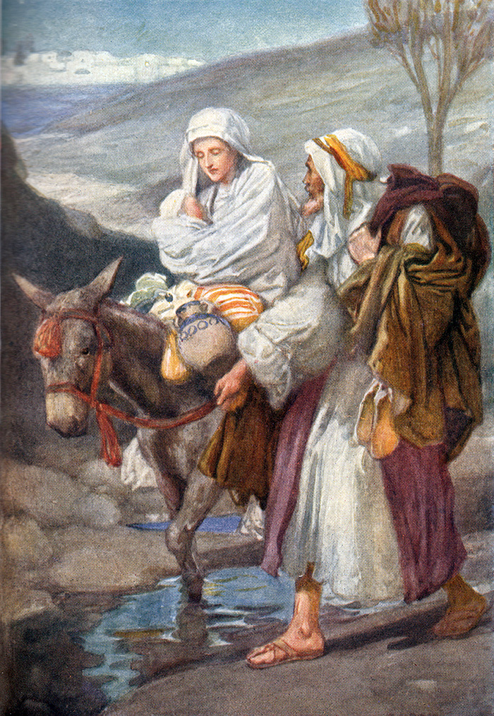 The Flight into Egypt by Arthur A Dixon