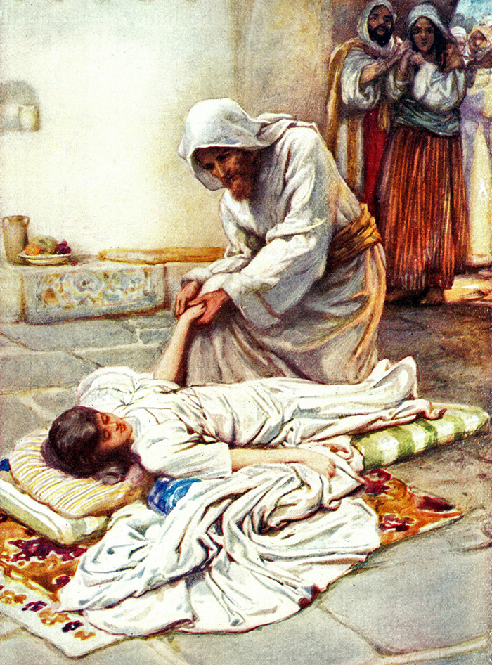 The Raising of the Daughter of Jairus by Arthur A Dixon
