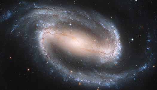 Barred Spiral Galaxy NGC