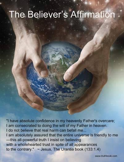 The Believer's Affirmation - Poster