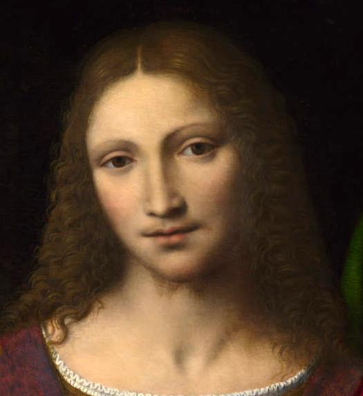 Portrait of Jesus (Retrato de Jesús) by Bernardino Luini