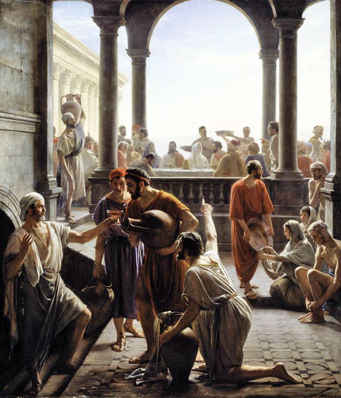 Marriage at Cana by Carl Bloch