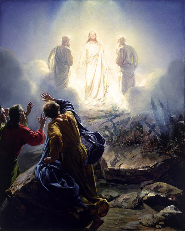 The Transfiguration of Christ by Carl Bloch