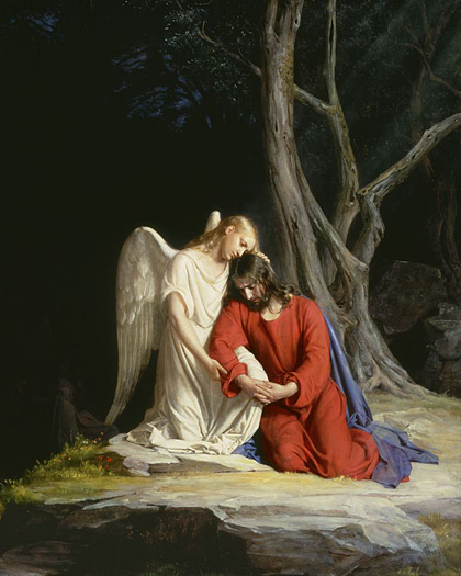 Agony in the Garden by Carl Bloch