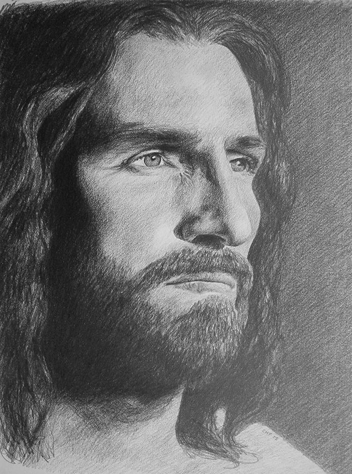 Jesus by Carol Herren Foerster