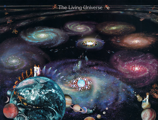 The Living Universe by Chick Montgomery