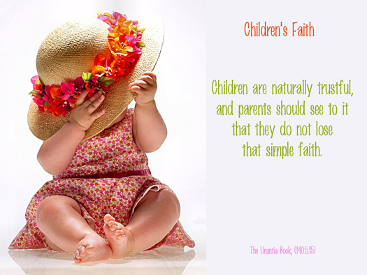 Childrens' Faith