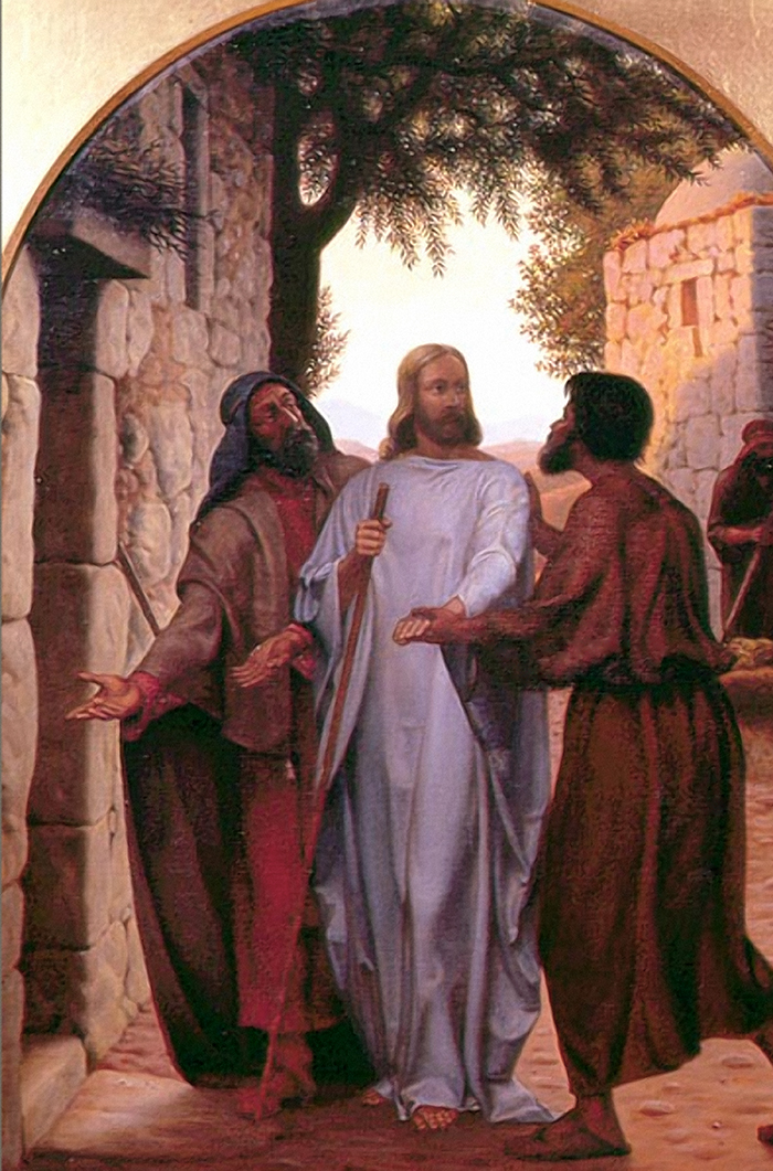 Jesus and the Disciples at Emmaus by Christen Dalsgaard