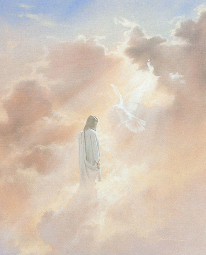 Christ in Clouds by Danny Hahlbohm