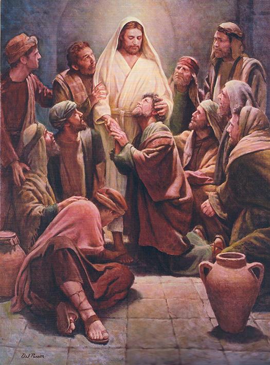 Christ and the Apostles (Cristo y los Apóstoles) by Del Parson