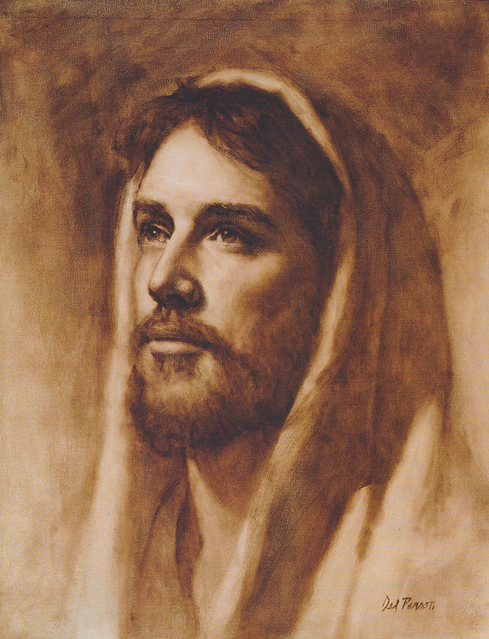 Jesus of Nazareth by Del Parson