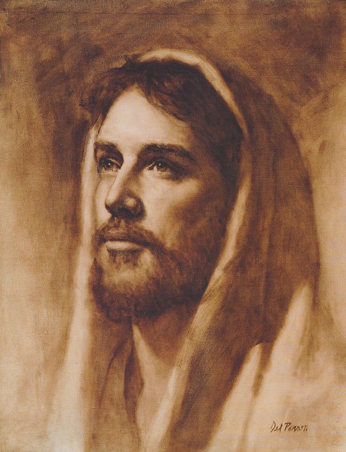 Jesus of Nazareth by Del Parson