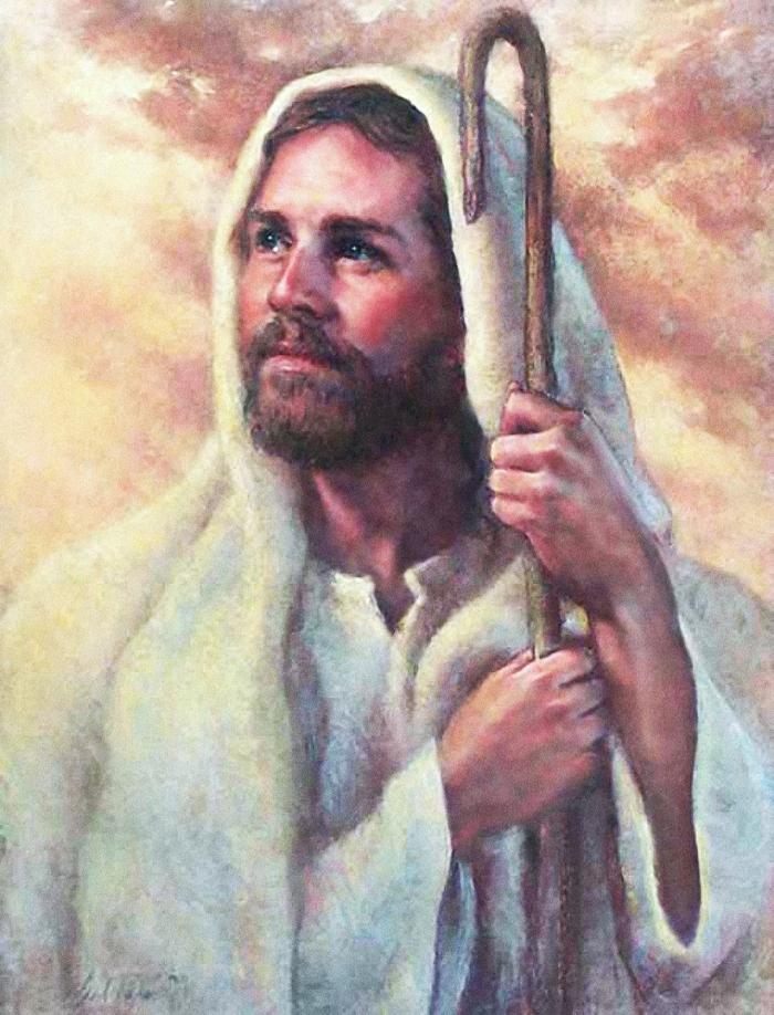 The Good Shepherd by Del Parson