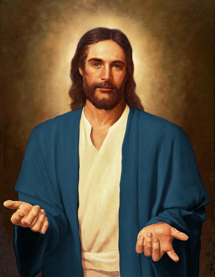 Jesusonian Jesus by Del Parson