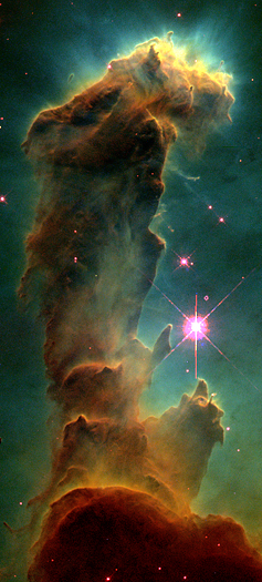 Eagle Nebula Pillar