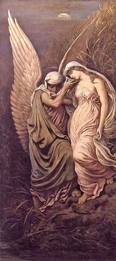 La Coppia Della Morte by Elihu Vedder