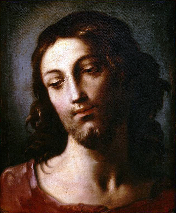 Head of Christ by Elisabetta Sirani
