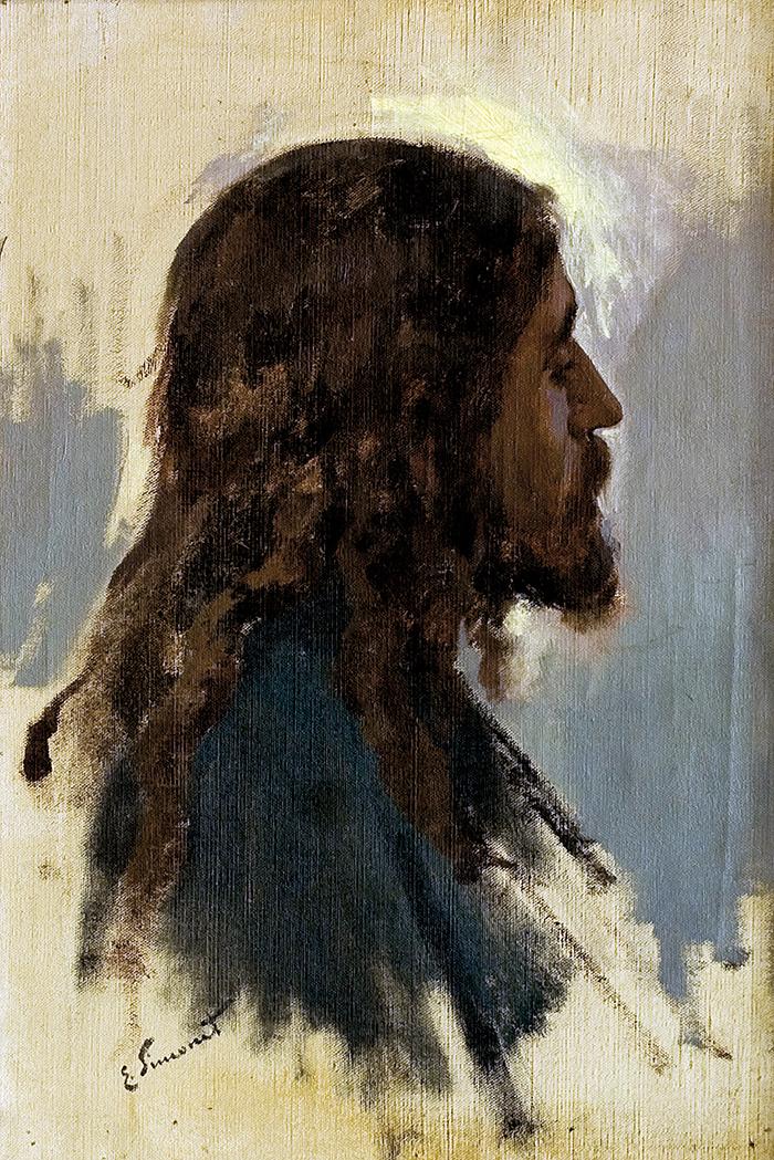 Cabeza de Jesús by Enrique Simonet