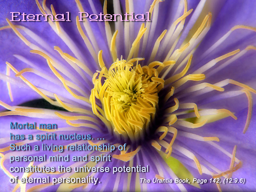 Eternal Potential - Quote of the Day - spirit and mind