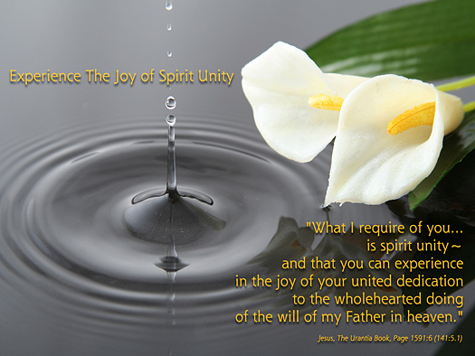 Experience the Joy of Spirit Unity - Quote of the Day - God, Jesus