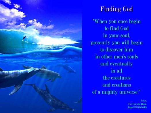 Finding God - Quote of the Day - God, creation