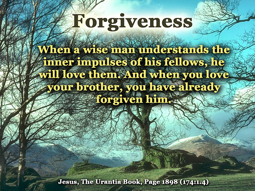 Forgiveness - Quote of the Day - brotherhood