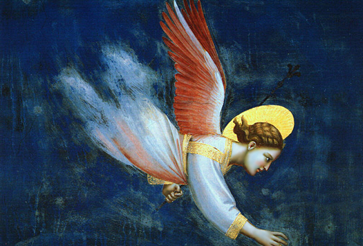 Angel by Giotto di Bondone