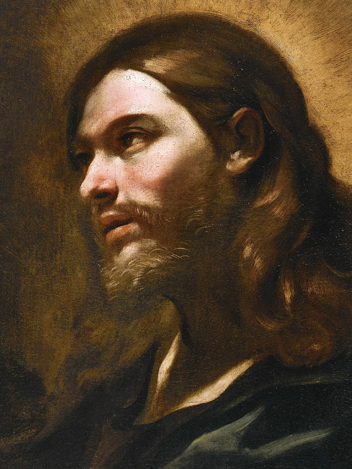 Head of christ by Giovanni Battista Beinasch