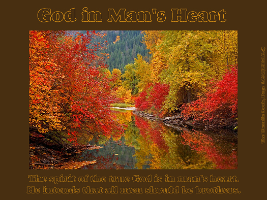 God in Mans' Heart