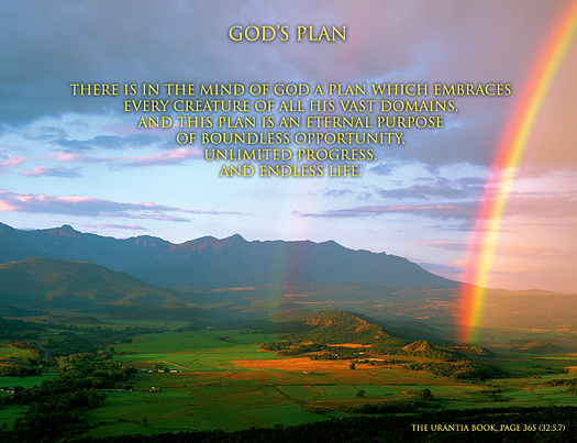 God's Plan - Quote of the Day - creation, eternity