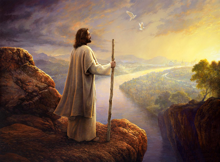 Hope on the horizon by Greg Olsen