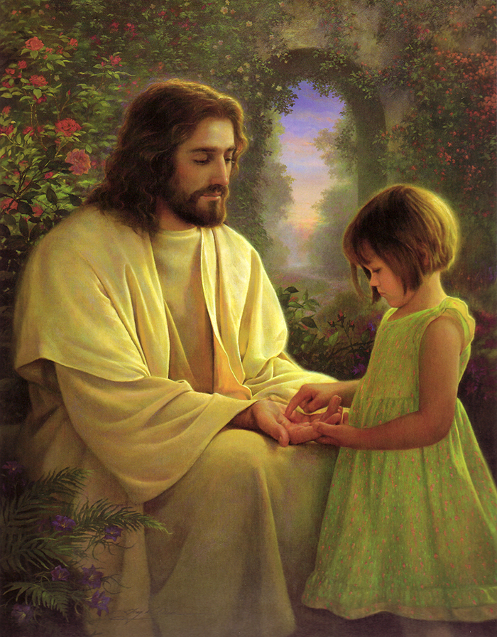 I Feel My Savior's Love by Greg Olsen