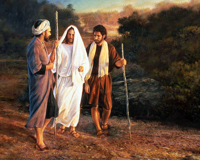 Road to Emmaus by Greg Olsen