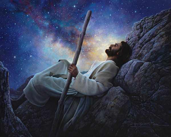 Worlds without end by Greg Olsen