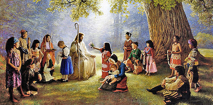 Children of the world by Greg Olsen