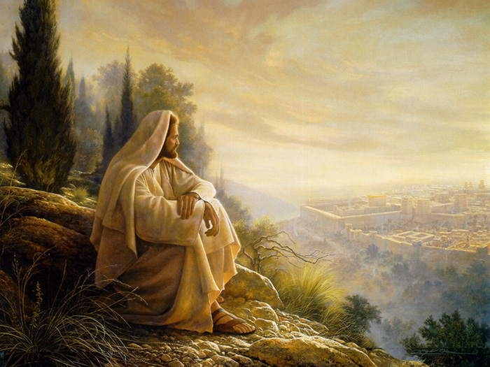 Oh, Jerusalem by Greg Olsen
