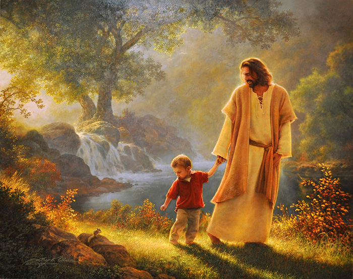 Take My Hand by Greg Olsen