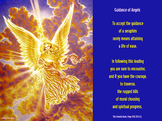 Guidance of Angels - Quote of the Day - seraphim, spiritual progress