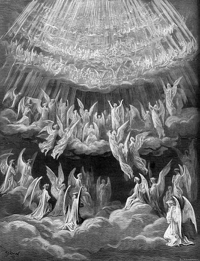 Angels by Gustave Dore