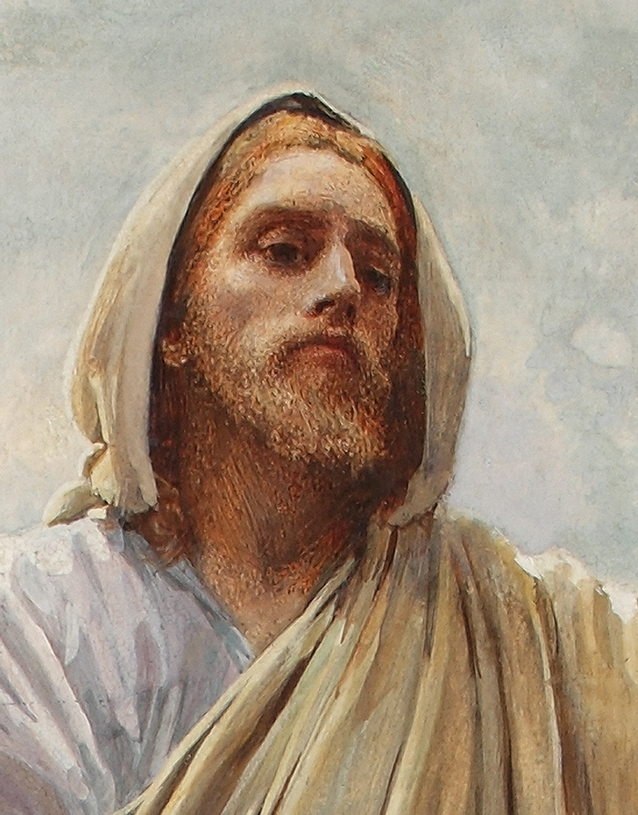 Come Unto Me (detail) by Harold Copping